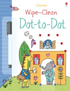 Dot-To-Dot Wipe Clean Books