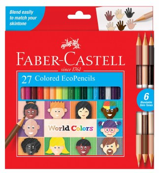 World Colors EcoPencils 27