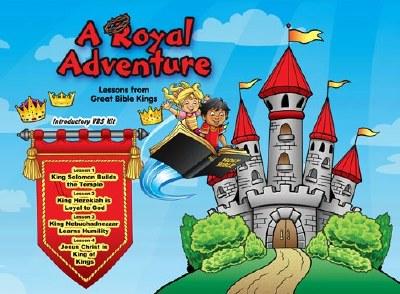 """""""A Royal Adventure""""  Lambert Book House 2020 VBS Starter Kit"""