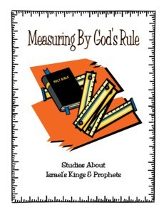 Shaping Hearts for God: Measuring By God's Rule Level 1 Workbook