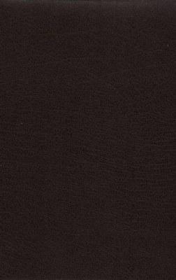 NASB Giant Print Reference Bible - Burgundy Bonded Leather