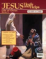 Abeka Flash-a-Cards: Jesus Heals and Helps