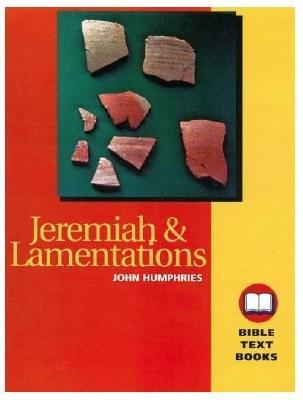 Bible Text Books - Jeremiah & Lamentations