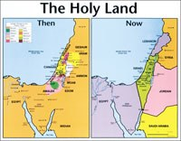 The Holy Land: Then & Now