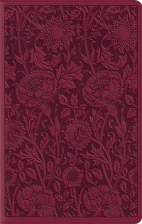 ESV Compact Bible Large Print- Floral Design