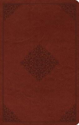 ESV Large Print Value Thinline Bible - Ornament Design