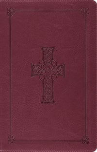 ESV Thinline Reference Bible - Burgundy Imitation Leather