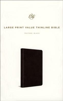 ESV Value Thinline Bible - Black Imitation Leather