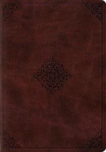 ESV Study Bible- Mahogany TruTone