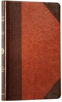 ESV Thinline Bible- TruTone Brown and Cordovan