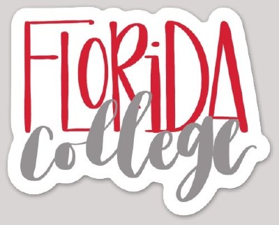 Florida College Sticker