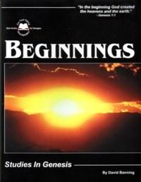 Beginnings: Studies in Genesis