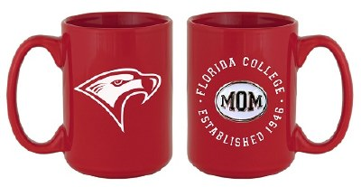 Red Florida College Mom Mug