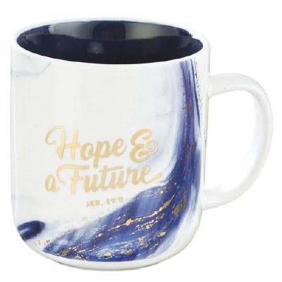 Mug - Blue Hope & a Future Cof
