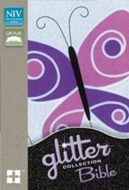 NIV Glitter Bible- Butterfly