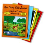New Living Bible Series Preschool 4-1 Stories from Genesis