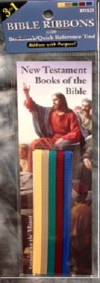 Bible Ribbons Bookmark: New Testament