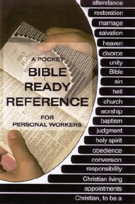 Bible Ready Reference Spanish