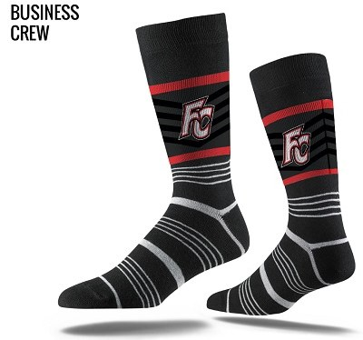 Black FC Dress Socks