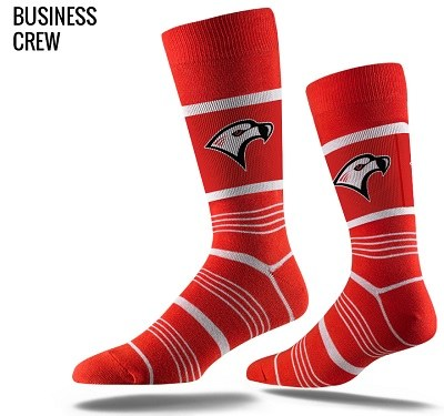 Red Falcon Dress Socks