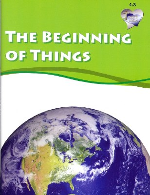 Word in the Heart: Junior 4:3 The Beginning of Things
