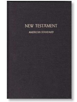 ASV 1901 New Testament - Hardcover