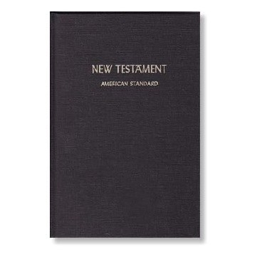 ASV 1901 New Testament - Soft Cover