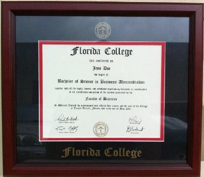 Diploma Frame BS