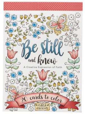 Coloring Cards - Be Still and Know