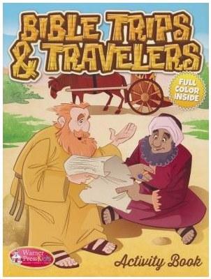 Bible Trips & Travelers Activity Book