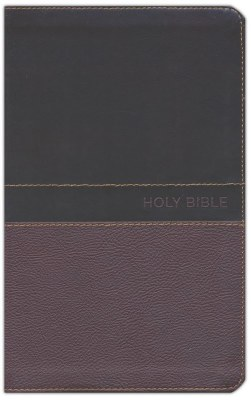 NKJV Deluxe Gift Bible - Brown/Tan Imitation Leather