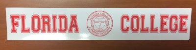 Florida College Car Decal
