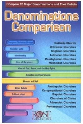Denominations Comparison, Pamphlet