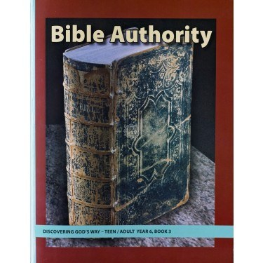 Discovering God's Way Teen/Adult 6-3 Bible Authority