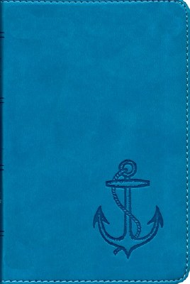 ESV Compact Bible Blue Anchor