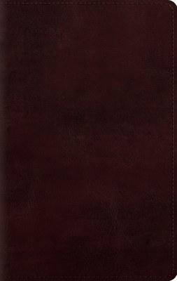 ESV Personal Bible - Mahogany Imitation Leather