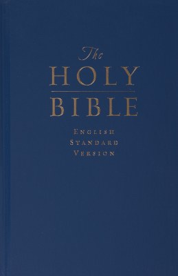 ESV Pew Bible - Navy Hardcover