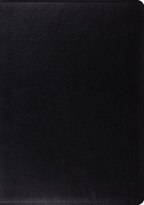ESV Study Bible - Black Bonded Leather
