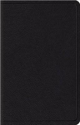 ESV Wide Margin Reference Bible - Black Leather