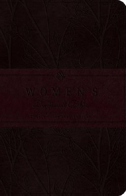 ESV Women's Devotional Bible - Burgundy Imitation Leather