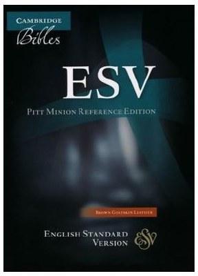 ESV Pitt Minion - Brown Goatskin