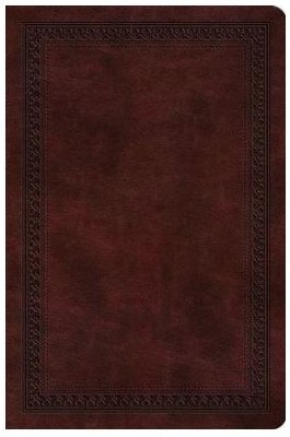 ESV Value Compact Bible - Mahogany TruTone