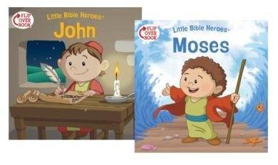 Moses/John Flip-Over Book