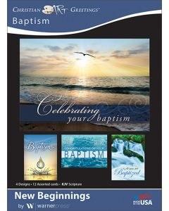 CARD BOXED, BAPTISM