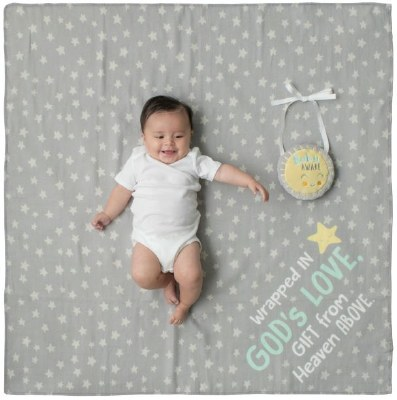 God's Love Swaddle Set