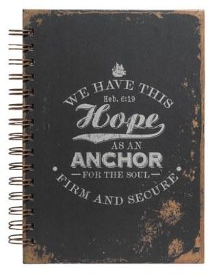 Journal - Spiral, Heb 6:19 Anchor