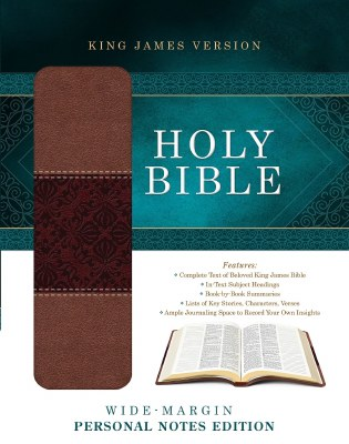 KJV Journaling Bible - Black Bonded Leather