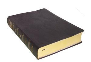 KJV Thompson Chain Reference Bible - Black Leather