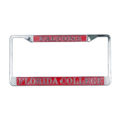 Florida College Falcons License Plate Holder