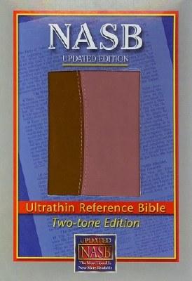 NASB Ultrathin Pink/Brown Bible